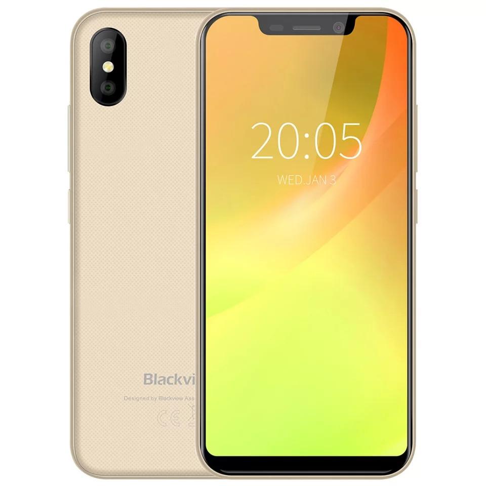 Смартфон Blackview A30 Gold 2\16Гб сканер лица + чехол + пленка