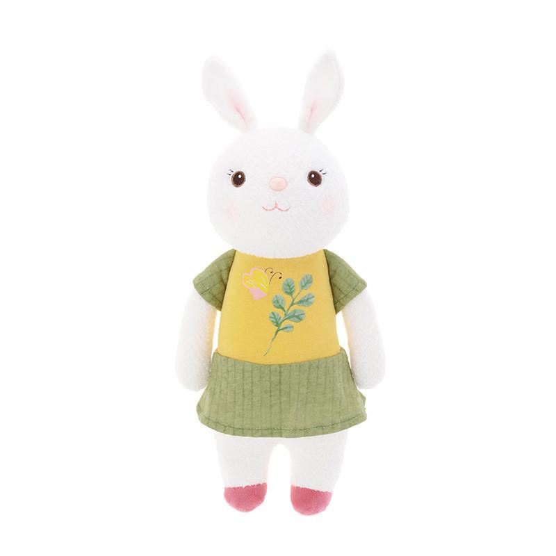 Мягкая игрушка Tiramitu Green-Yellow Dress, 34 см Metoys