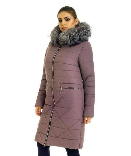 Пальто пуховик женское Liar 3352-1