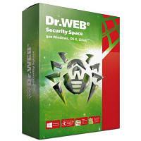 Антивирус Dr. Web Security Space + Комплексная защита 1 ПК 1 год (новая лиценз (LHW-BK-12M-1-A3)