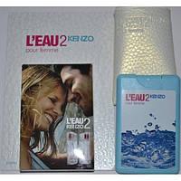 Женский мини-парфюм в чехле Kenzo L'Eau 2 Kenzo pour Femme 20 мл