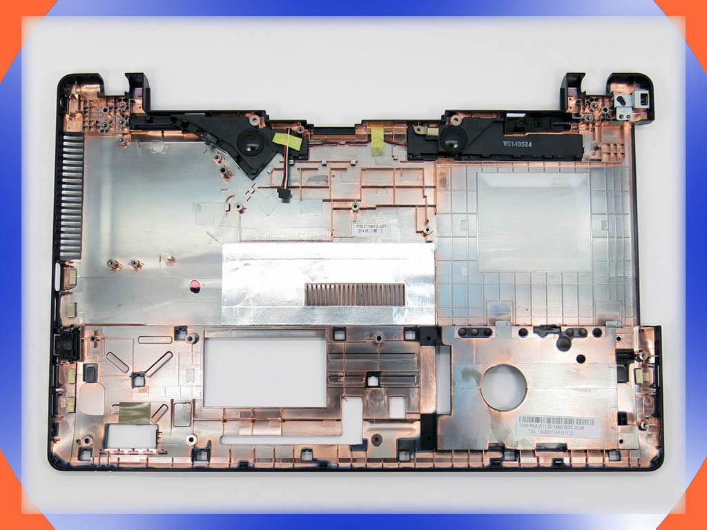 Корпус ASUS X550V c USB разъемом справа! (Нижняя часть - нижняя крышка