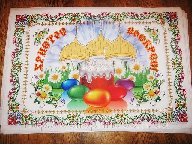 Рушник пасхальный декор