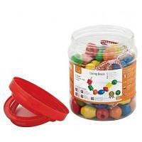 Развивающая игрушка Viga Toys Бусинки, 90 шт (58304)