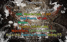 Поступление: Cloma Pharma, Finaflex, Infinite Labs, MuscleTech, Optimum Nutrition, Power Pro, Powerful Progress, Strong FIT,  Activlab, DNA Supps (OLIMP), GNC, Muscle Care, OLIMP, Real Pharm, VP Lab, Weider.