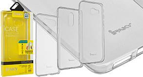 Накладка силиконовая iPAKY ASUS ZenFone 3 MAX (ZC553KL) (прозрачный) в упак