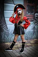 Карнавальный костюм для девочкина Хэллоуин Пиратка