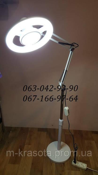 Лампа кольцевая для тату, ресничек, шугаринга, бровей , визажиста