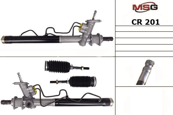 Рулевая рейка с ГУР Авео 1.5 в сборе Chevrolet Aveo, CR 201