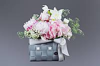 "Букет Fiori ""Flowers with bear"""