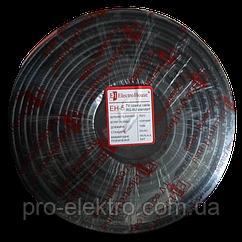 EH-5 Телевизионный (коаксиальный) кабель RG-6U 100% ССS 1,02 Медная фольга 100 медных жил ПВХ/черный