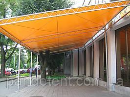 Павильоны, палатки, кафе из ткани ПВХ 650 г/м2 - Испания
