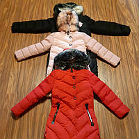 Дитяче зимове пальто  для дівчат S&D
