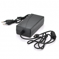 Импульсный адаптер питания YM-2420 24В 2А (48Вт) штекер 5,5/2,5 + шнур питания, длина 1,10м