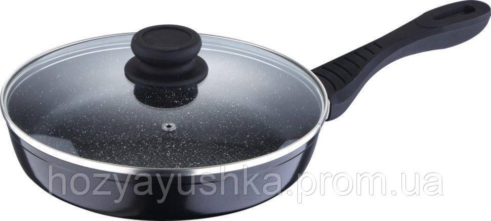 Сковорода с крышкой Luxberg Stark LX 121503 - 28 см