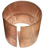 Втулка шкворня бронзовая  тракторного прицепа 2птс-4 (диаметр Ф-38/42)