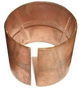 Втулка шкворня бронзовая  тракторного прицепа 2птс-4 (диаметр Ф-38/41)