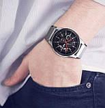 Миланский сетчатый ремешок для часов Samsung Galaxy Watch 46 mm (SM-R800) - Silver, фото 7