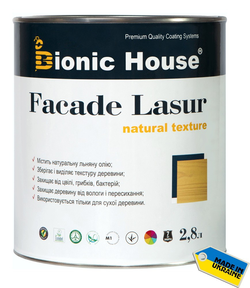 Bionic House Facade lasur 2,8л