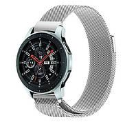 Миланский сетчатый ремешок для часов Samsung Galaxy Watch 46 mm (SM-R800) - Silver