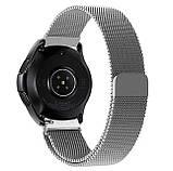 Міланський сітчастий ремінець для годинника Samsung Galaxy Watch 42 mm (SM-R810) - Silver, фото 2