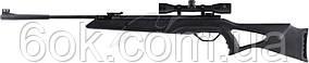 Винтовка пневматическая Beeman Longhorn Gas Ram кал. 4.5 мм (Оптический прицел 4х32)