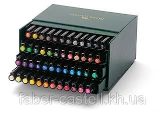 """Набор капиллярных ручек-кисточек Faber-Castell PITT® ARTIST PEN """"BRUSH"""" STUDIO BOX набор 48 цветов, 167148"""
