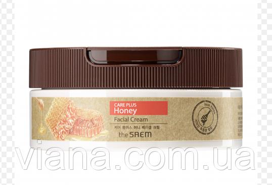 Медовый питательный крем для кожи лица SAEM Care Plus Honey Facial Cream200 мл