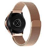 Миланский сетчатый ремешок для часов Samsung Galaxy Watch 42 mm (SM-R810) - Rose Gold, фото 2