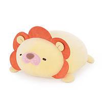 Мягкая игрушка - подушка Лев, 34 см Metoo Желтая (47192)