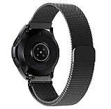 Миланский сетчатый ремешок для часов Samsung Galaxy Watch 42 mm (SM-R810) - Black, фото 2