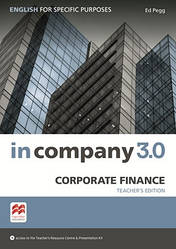 In Company 3.0 ESP Corporate Finance Teacher's Pack