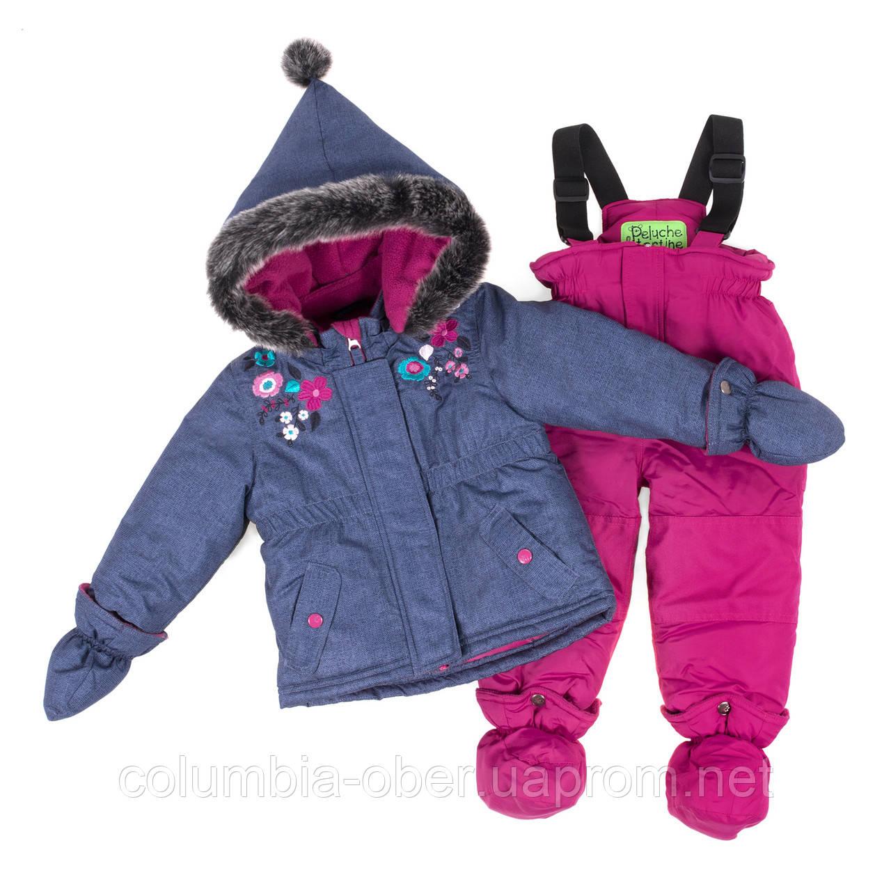 Зимний комплект для девочки PELUCHE F18 M 10 BF Dk Heaven. Размеры 12 мес-3.