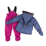 Зимний комплект для девочки PELUCHE F18 M 10 BF Dk Heaven. Размеры 12 мес-3., фото 2
