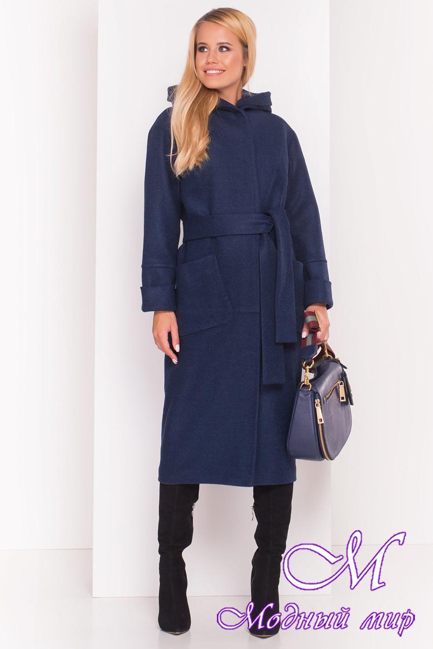 Довге пальто з капюшоном, осінь весна (р. S, M, L) арт. Аніта 5325 - 37391