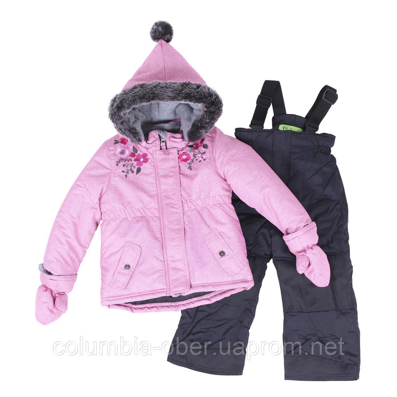 Зимний комплект для девочки PELUCHE F18 M 10 BF Vinage Pink. Размеры 12 мес-3.