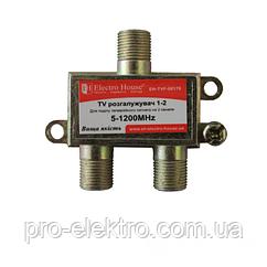ТВ Разветвитель 1-2 EH-TVF-00179