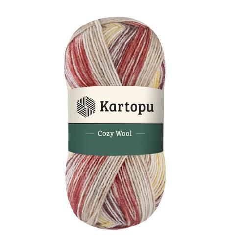 Kartopu Cozy Wool Sport Prints H1910