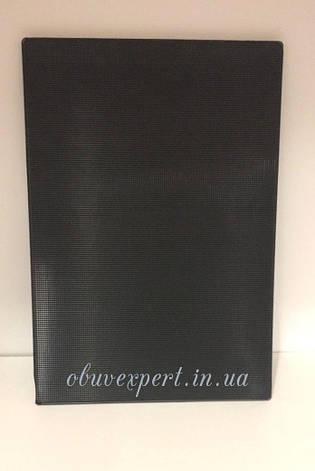 Полиуретан обувной 260х180х4 мм черный, рифленый, фото 2