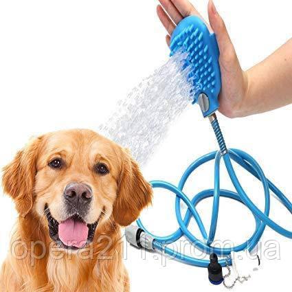 Перчатка для мытья животных AQUAPAW, щетка для мойки животных (AS SEEN ON TV)
