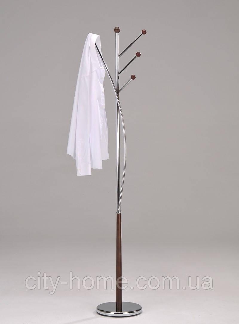 Вешалка напольная для одежды, хром 4014-W