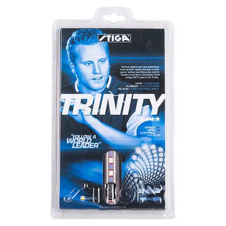 Ракакетка для настільного тенісу 1 штука Stiga Trinity **** ST-4 деревина, гума