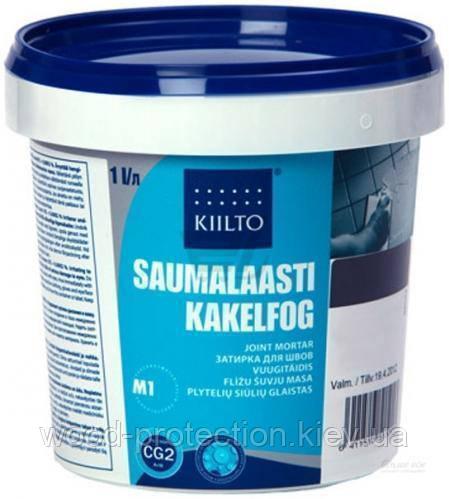 Затирка для швів Kiilto Saumalaasti 38 (сіро-коричнева) 3кг