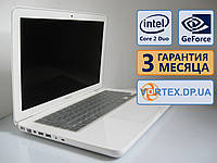 Ноутбук Apple A1342 Win7 13.3 (1280x800) / Core 2 Duo P8600 (2x2.4GHz) / GeForce 320M / RAM 4Gb / HDD 250Gb / АКБ нет / Сост. 8.5 из 10 БУ