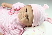 Кукла реборн Ира, мягконабивная 40 см, ручная работа reborn doll