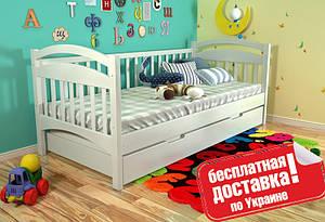 Односпальная деревянная кровать Алиса (80*190 см сосна)Arbor