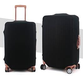 Чехол на чемодан ЧМЧ-7001 черный, размер L(28)