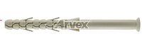 Дюбель рамный KARL 16x400 мм нейлон Аrvex, 25 шт.