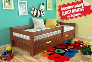 Односпальная деревянная кровать Альф (80*190 см сосна) Arbor