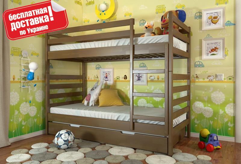 Двухъярусная деревянная кровать Рио Arbor